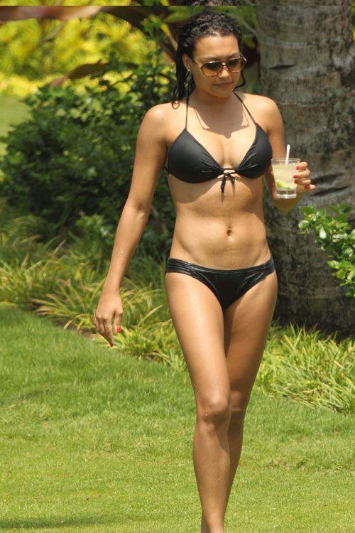 25 best bikini bodies celebrity abs pinterest naya