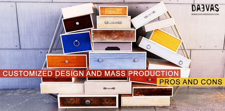 #Customized #Design And #Mass #Production | Pros And Cons The very idea of customized design is to let the new #ideas flow freely and be paid for, to ensure the #human #touch and sense of sentiments in a #product. #daevasdesgin