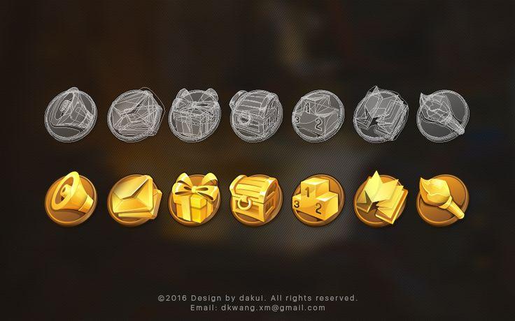 iOS Game Visual Design on Behance