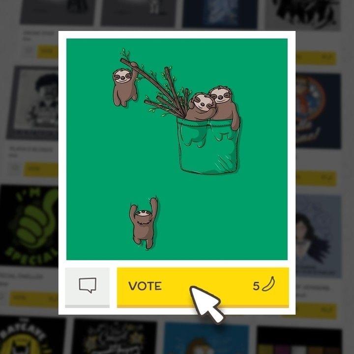 (EN) Have you seen our latest designs? VOTE for your favorites on WWW.WISTITEE.COM (FR) Avez-vous vu nos derniers designs ? VOTEZ pour vos préférés sur WWW.WISTITEE.COM  #paresseux #sloth #famille #family #animal #poche #pocket #Beka #wistitee #design #illustration