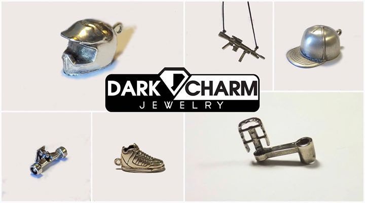 Extreme Sports anyone? #silverjewelry #charm #extremesports #unique #street #fashion #BMX #FMX #oldschool