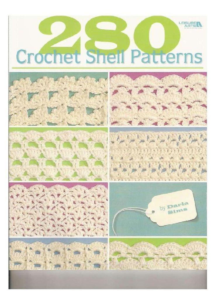 280 crochet shell pattern