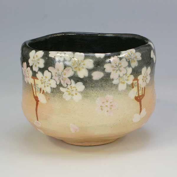 Kiyomizu ware Tea bowl 清水焼 京焼 抹茶碗