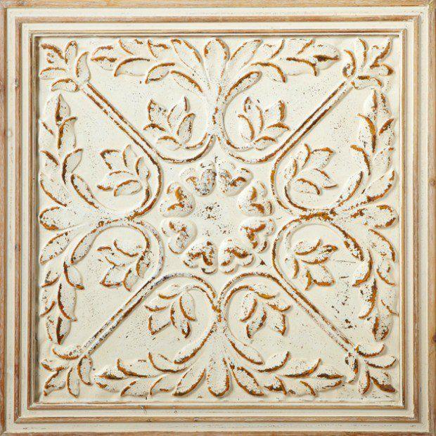 Medallion Ceiling Tile Wall Art