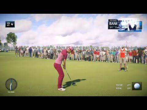 RM PGA TOUR GOLF-The Open Championship-Round 1-With WWE Diva Sasha Banks...