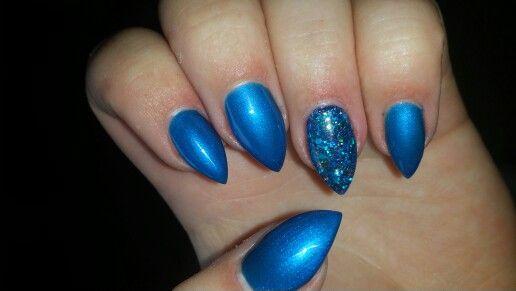 Kobalt blue with some glitter