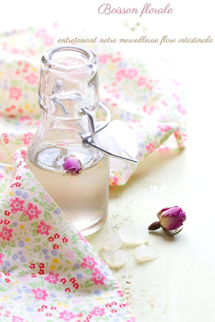 Kéfir à la rose : boisson florale aux verrues probiotiques