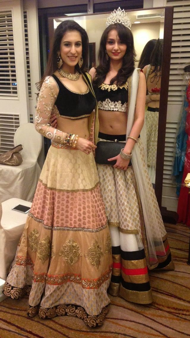 Wedding Ideas: Lehengas by MischB CoutureMore