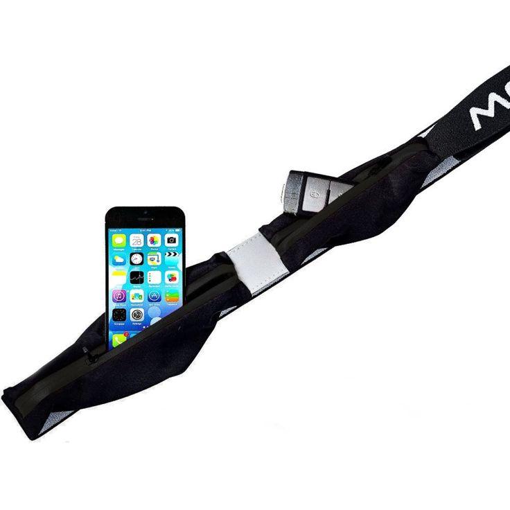 Expandable 2 Pocket Waistbag    är en lätt och smidig midjeväska från MOC med expanderande fickor för iPhone/Android. Fickorna är töjbara och har vatten-skyddade blixtlås. I den större fickan förvarar du din smartphone och i den andra, mindre fickan kan du ha nycklar, kreditkort, ett mellanmål etc.