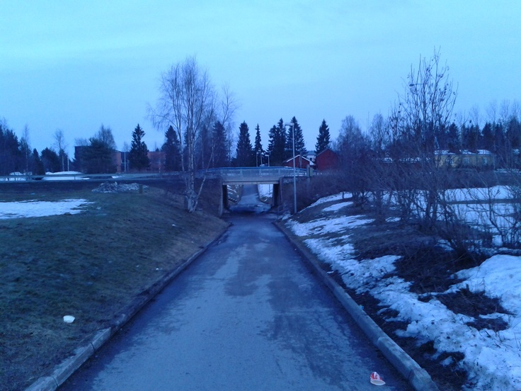 Some underpass in Oulunsalo, Oulu.