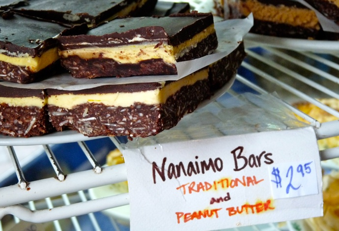 Bocca Cafe offers many types of bars! Love the Peanut Butter one :)