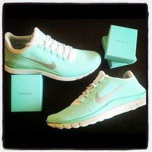 Tiffany Blue Nike's ,$48 for tiffany free runs, #tiffany #blue #nikes for over 63% off online for sale