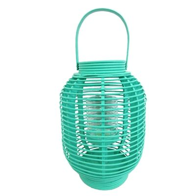 1312 best lighting landscape lighting images on pinterest shop allen roth x teal rattan outdoor decorative lantern at lowes canada find our selection of decorative lanterns at the lowest price guaranteed with aloadofball Images