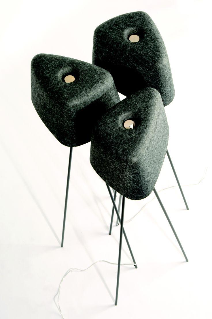 home i interior i furniture i filz lampe leuchte i felt. Black Bedroom Furniture Sets. Home Design Ideas
