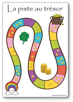 La piste au trésor : jeu de numération pour la maternelle