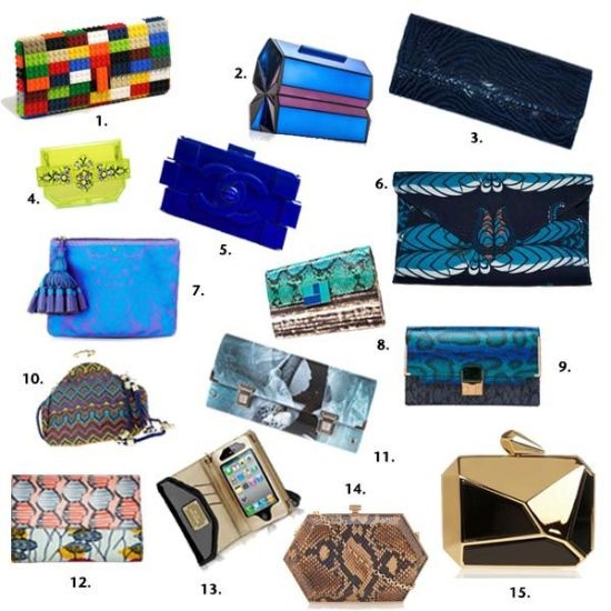 "On the new column ""You Need It, Bubu"" of Okayafrica, written by Poundo Gomis, Spanaki is on the must-have clutch bag list!"