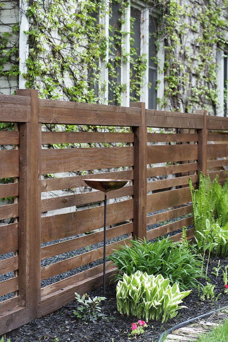 best 10 horizontal fence ideas on pinterest backyard fences wood fences and privacy fences. Black Bedroom Furniture Sets. Home Design Ideas