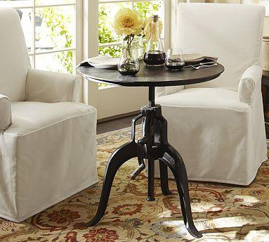 Calvert Side Table #potterybarn