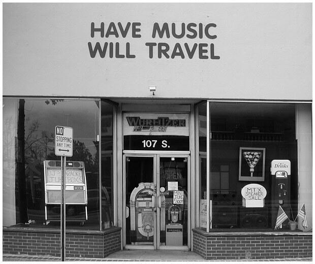 Leo Fender's first Guitar Shop in downtown Fullerton, California