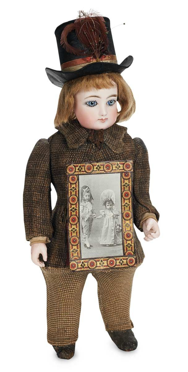 French candy container. View Catalog Item - Theriault's Antique Doll Auctions