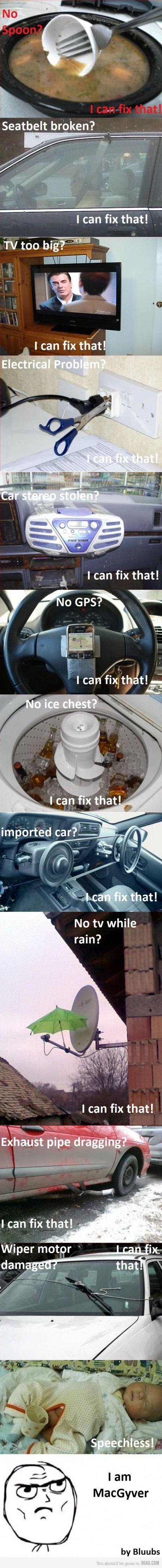 You can fix that!! Hahaha El de la antena de cable!!