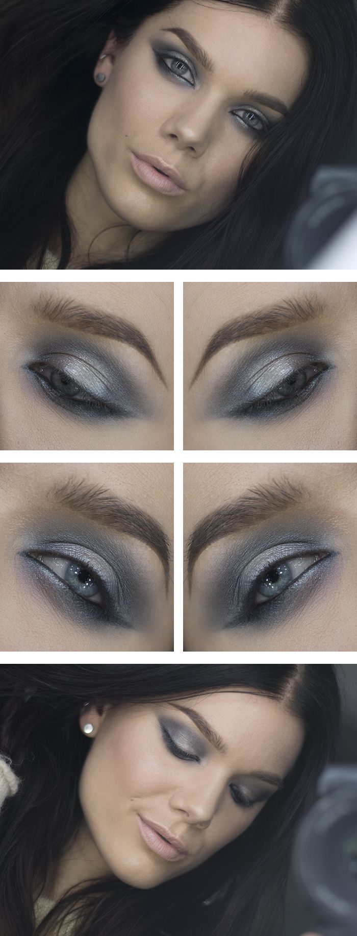 Gray Makeup: A Collection Of Ideas To Try About Hair And
