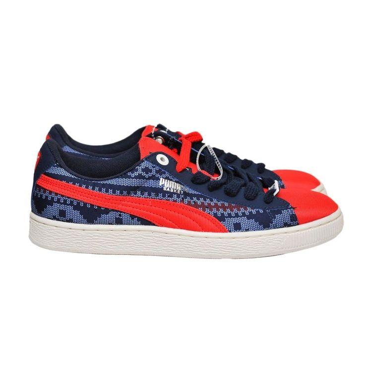 PUMA MEN'S BASKET Classic Urban Fair Fashion Sneakers SIZE 8 NEW #PUMA #AthleticSneakers
