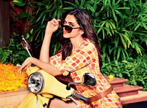 Deepika Padukone for Vogue Eyewear India