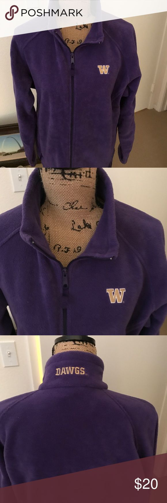 NEW * UW Jacket by Columbia, XL, Brand NEW! NEW * UW Jacket by Columbia, XL, Brand NEW! Color: Purple. Zip front. Bought at UW bookstore ~ never worn. Absolutely PERFECT! Columbia Jackets & Coats