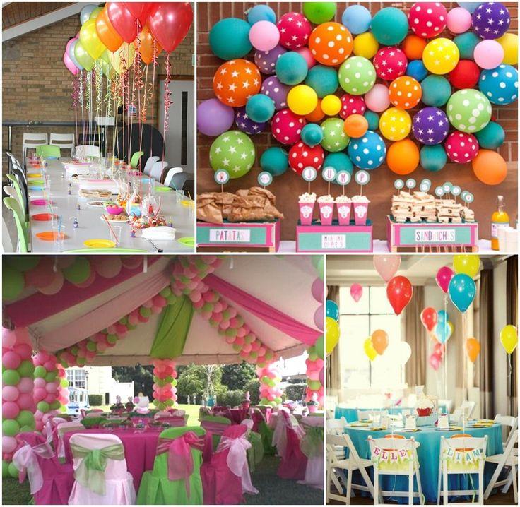 Balloon Birthday Party Ideas