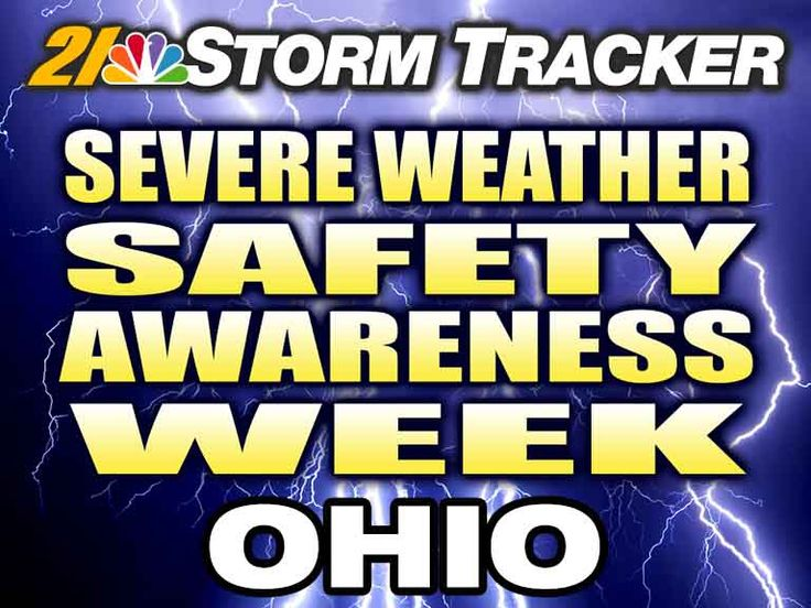 It is Spring Severe Weather Safety Awareness Week in Ohio (3/20-3/26). Stay with Storm Tracker 21 all week long for important information. The statewide tornado drill will be held on Wednesday (3/23) at 9:50 a.m. Also, remember to download the Storm Tracker 21 weather app to have the latest information at your fingertips 24/7.