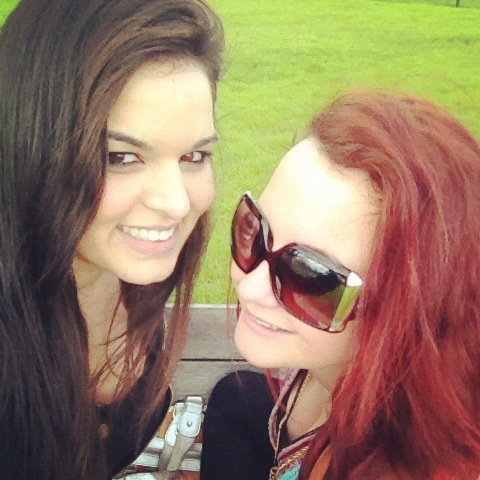 PETA and I at the park woop