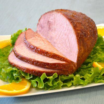 Orange Glazed Baked Ham