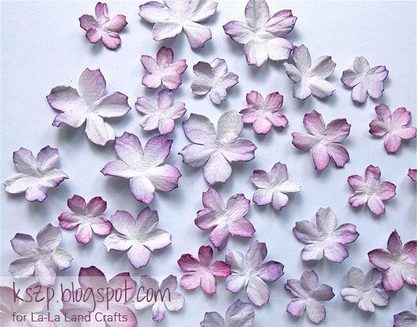 Klaudia/Kszp: Kurs na kwiaty wiśni / Cherry Flowers Tutorial