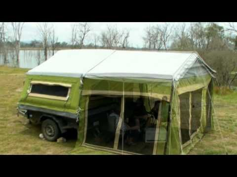 Gordigear Taiga - Camper Trailer Tent - YouTube