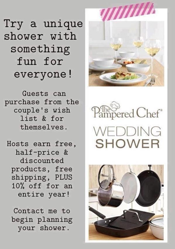 77 best pampered chef bridal shower images on pinterest