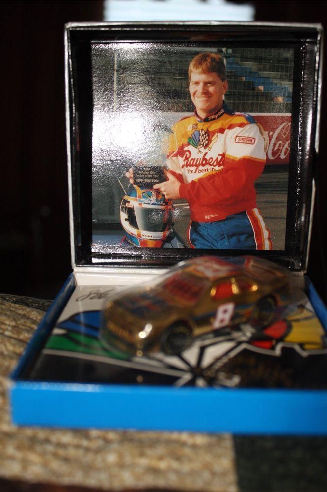 Jeff Burton #8 Raybestos Matchbox 1994 ROY Gold 1:64 Diecast #Matchbox #Ford