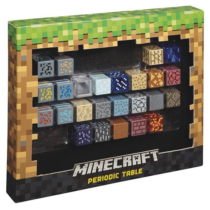 Minecraft Periodic Table, Multicolor