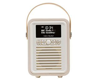 Expert Verdict Retro Mini Portable DAB Radio, Cream We've chosen this radio as much for its gorgeous, petite design and colours as for its genuinely-excellent DAB and FM reception. This portable radio doubles as a bedside clock radio, although it's far http://www.MightGet.com/march-2017-1/expert-verdict-retro-mini-portable-dab-radio-cream.asp
