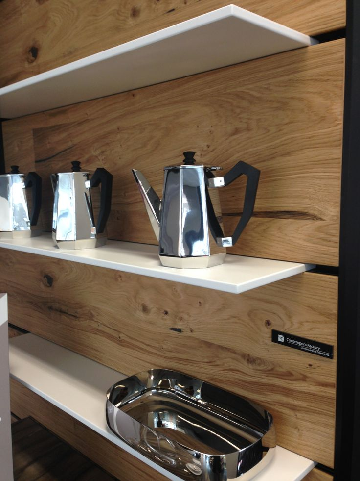 DETAILED SHOT OF SHELVING BY ASTER -  GET YOUR ASTER KITCHEN AT ASTRO DESIGN CENTRE (OTTAWA)