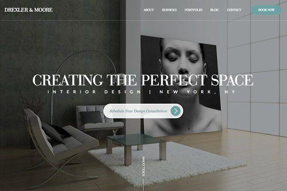 Interior Design Website Template Interior Design Website