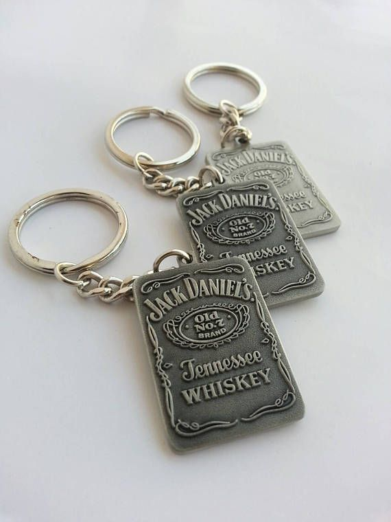 Check out this item in my Etsy shop https://www.etsy.com/listing/529798975/keyring-jack-daniels-3-piece-special