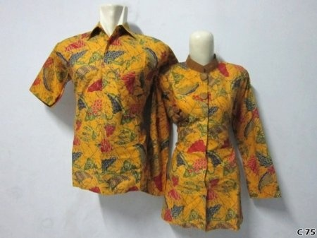 Kemeja Batik C75 | IDR 120.000 | bahan : Katun | Size M, L, XL | Order : 081333303545