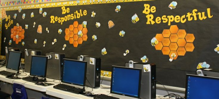 Classroom Decor Kit ~ Best images about computer lab bulletin board on pinterest