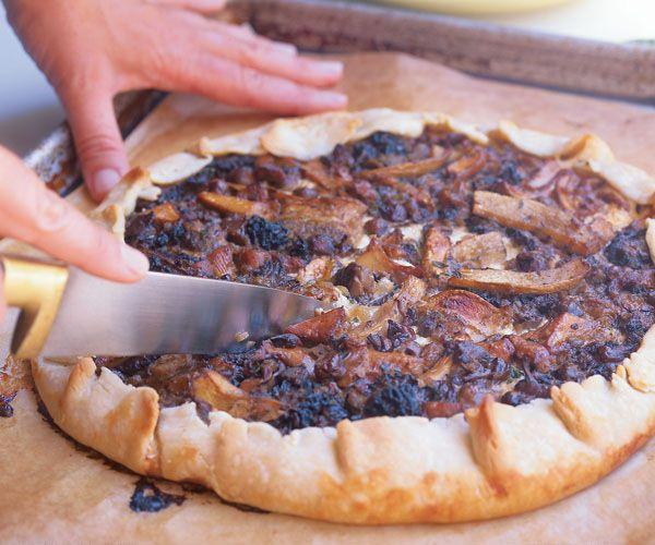 Savory Mushroom Tart | Recipe