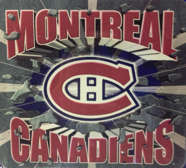 Montreal Canadiens NHL Hockey Mouse Pad