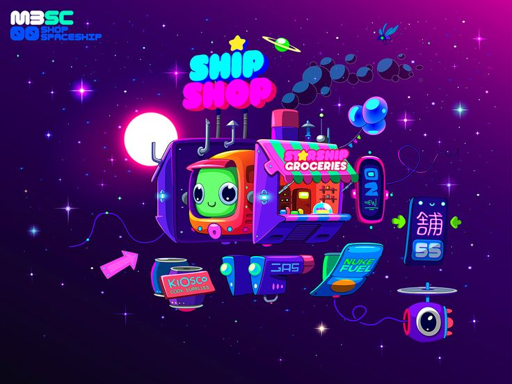 Space Cantina on Behance
