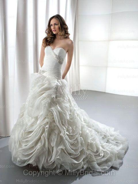 Ivory Wedding Dresses at Millybridal.com