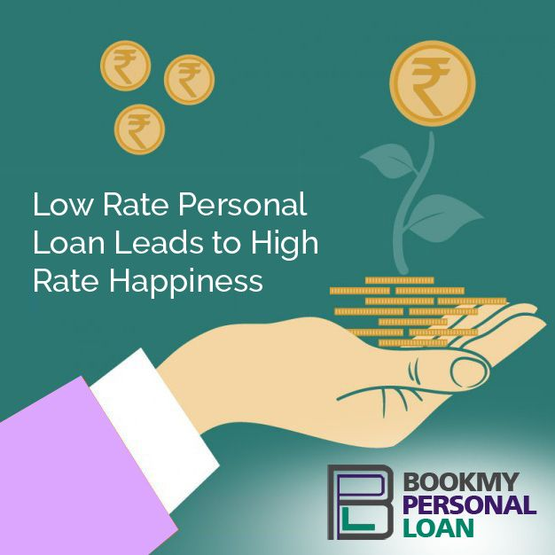 http://www.bookmypersonalloan.com/low-rate-personal-loan-leads-high-rate-happiness/