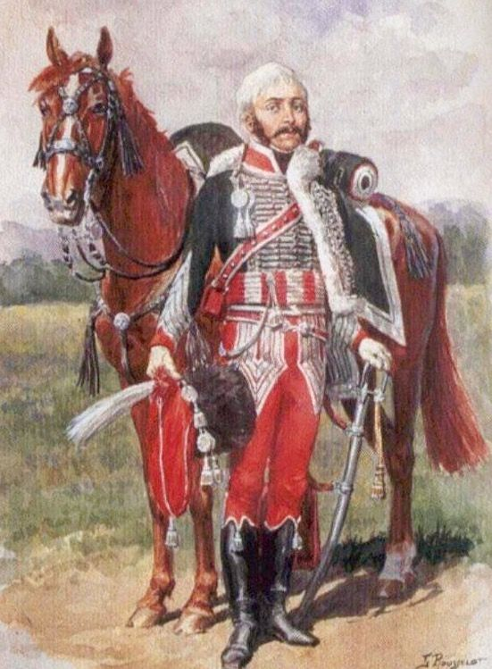 Colonnello Marulaz del 8 rgt. ussari francesi